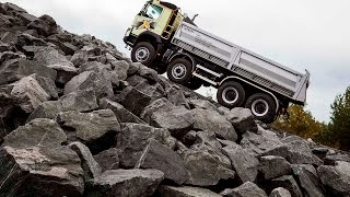 Download Volvo Trucks - New I-Shift with crawler gears can start from standstill with 325 tonnes Video