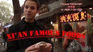 Download Mouthwatering Muslim Cuisine in Xi'An, China Video