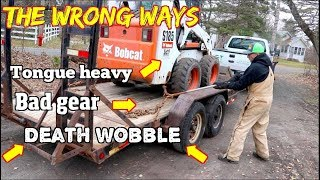 Download How Not to load a Trailer. Mistakes that lead to accidents. Video