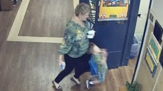 Download Teacher knocks over child, gets arrested Video