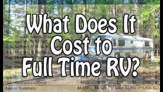 Download What Does it Cost to Full Time RV? Video