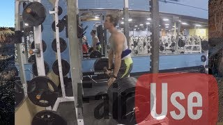 Download Why Above The Knee Rack Pulls Are A Terrible Hypertrophy Exercise! Video