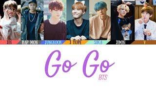 Download BTS (방탄소년단) - Go Go (고민보다 Go) Lyrics [Color Coded Lyrics](Han/Rom/Eng) Video