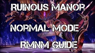 Download Tera Guide: Ruinous Manor Normal Mode Guide [RMNM] [PS4 & XBOX ONE patch] Video