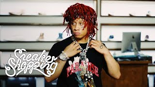 Download Trippie Redd Goes Sneaker Shopping With Complex Video