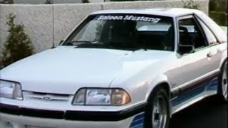 Download 1988 Saleen Mustang and ASC McLaren Convertible Video