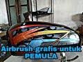 Download Airbrush grafis dasar pada tangki cb, airbrush pemula Video