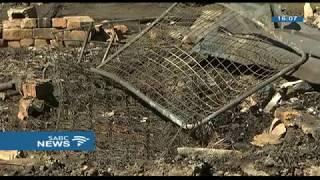 Download A elderly woman dies in Denver informal settlement fire Video