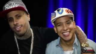 Download Daddy Yankee y Nicky Jam en una divertida entrevista ″Los Cangris″ (2015) Video