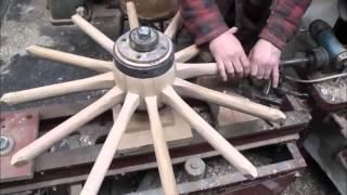 Download wooden wheel making .wheelwrights. Video