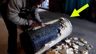 Download Anyone Thinking Of Throwing Out An Old Water Heater Should Follow This Guy s Lead Instead Video