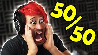 Download Reddit's 50/50 CHALLENGE Video