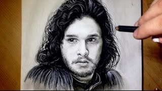 Download Comment dessiner un visage [Tutoriel] Jon Snow Video