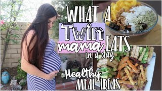 Download What I Ate : Vegan TWIN Pregnancy (Healthy Meal Ideas) Video