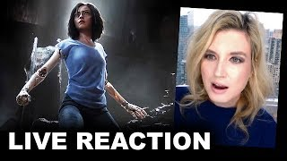 Download Alita Battle Angel Trailer REACTION Video