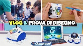 Download MIND DESIGNER Clementoni: il robot CHE SA DISEGNARE Video