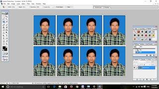 How to make passport size photos in 4x6 paper Free Download Video