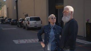 Download Sneak Peek: Ellen Takes David Letterman on a Tour of Her Offices Video
