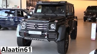 Download Mercedes-Benz G500 4x4² 2017 In Depth Review Interior Exterior Video