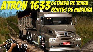Download ATRON 1635 NA CAÇAMBA - ESTRADA DE TERRA E PONTE DE MADEIRA!!! Video