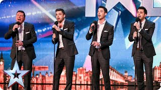 Download Vocal group The Neales are keeping it in the family | Britain's Got Talent 2015 Video