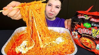 Download Exposing Manny MUA With Receipts • Cheesy Fire Noodles • MUKBANG Video