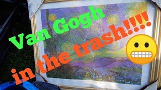 Download Fine art in the trash Video