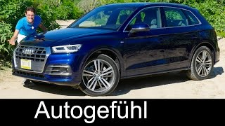 Download Audi Q5 FULL REVIEW test driven S-Line onroad/offroad 2.0 TFSI 3.0 TDI all-new neu 2017/2018 Video