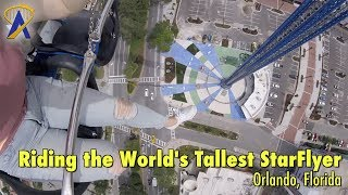 Download Taking on the World's Tallest StarFlyer on International Drive in Orlando Video