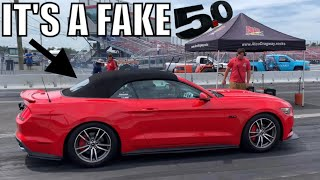 Download WE SNUCK AN ECOBOOST MUSTANG INTO A COYOTE SHOOTOUT RACE! Video