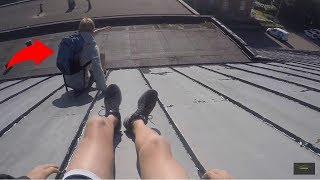 Download Late To First Day Of School | Parkour POV Video