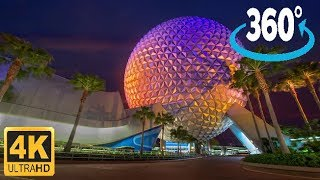 Download 360º Ride on Spaceship Earth Video