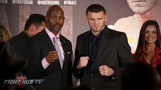Download Bernard Hopkins vs. Joe Smith Jr. Full Press Conference and Face Off video Video