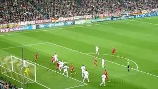 Download Bayern vs. Real - 17.04.2012 - Allianz Arena - Tor zum 1 : 0 durch Franck Ribéry - LIVE !!! Video