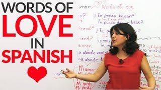 Download Learn Words of LOVE in Spanish ❤ ❤ ❤ Video