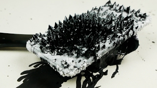 Download How Does iPhone 7 React To Magnetic Ferrofluid? Video