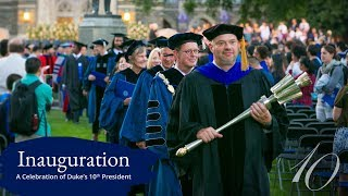 Download Sights and Sounds of Duke's 10th Presidential Inauguration Video