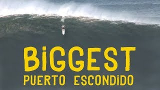 Download REAL SURF STORIES presents: BIGGEST PUERTO ESCONDIDO WAVES EVER SURFED! Video