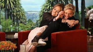 Download Jennifer Lopez Shares Her Germs with Ellen Video