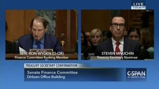 Download Ron Wyden goes nuclear on Steven Mnuchin Video