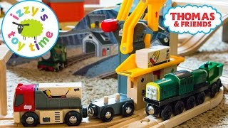 Download Thomas Train with Brio Freight Goods Station | Thomas and Friends | Fun Toy Trains for Kids Video