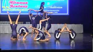 Download Abacus Champs Championship 2014 Rhythmic yoga Taranpreet and group Video
