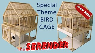 Download ″Serender″ Ahşap Kuş Kafesi Yapımı (Wooden Bird Cage) Video