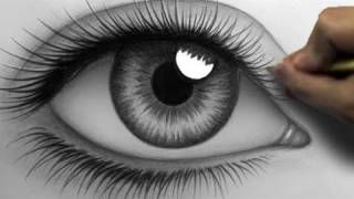 Download How to Draw a Realistic Eye (Time Lapse) Video