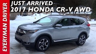 Download Just Arrived: 2017 Honda CR-V AWD on Everyman Driver Video