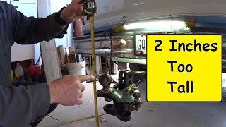 Download RV Travel Trailer towing. Taller truck shorter Hitch Video