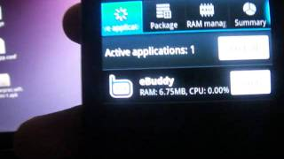 Download Ebuddy runs on Android Froyo on Samsung S8500 Wave! Video
