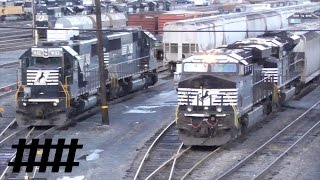 Download Sunrise in Altoona: 1 Hour Long Video of Norfolk Southern Trains Near Rose Yard & Altoona Station Video