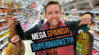 Download Exploring a MASSIVE Spanish Supermarket Video