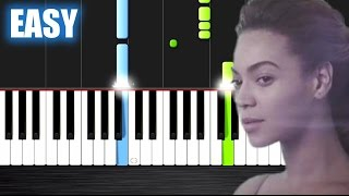 Download Beyoncé - Halo - EASY Piano Tutorial by PlutaX Video